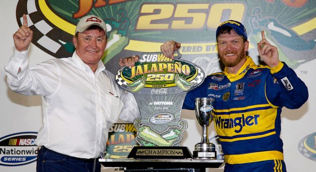 Richard Childress Dale Earnhardt Jr Getty Images