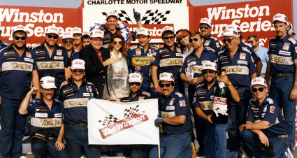 RCR 50 Throwback Thursday: The 'Pass in the Grass' is Born during '87 Winston