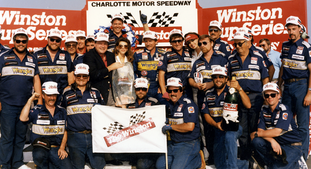 1987 All Star Victory Lane