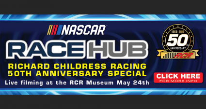 Limited Tickets Left: NASCAR Race Hub's RCR 50th Special Live Filming