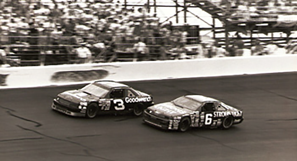 Dale Earnhardt had to beat a hungry Mark Martin to sweep both Dover races during the 1989 season.