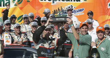 RCR 50 TBT: Harvick Takes Inaugural Cup Win at Chicagoland Speedway