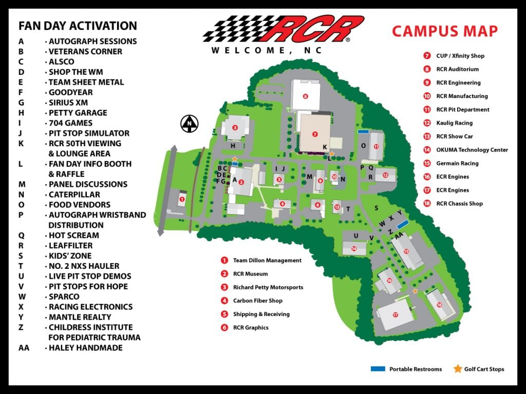 18x24 Signs Toprint Campus Map New
