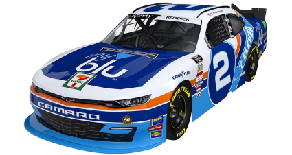RCR to Honor Kyle Petty's 7-Eleven Scheme with No. 2 myblu Chevy at Darlington