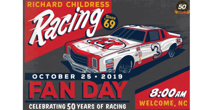 RCR's 50th Anniversary Fan Day Set for October 25, 2019