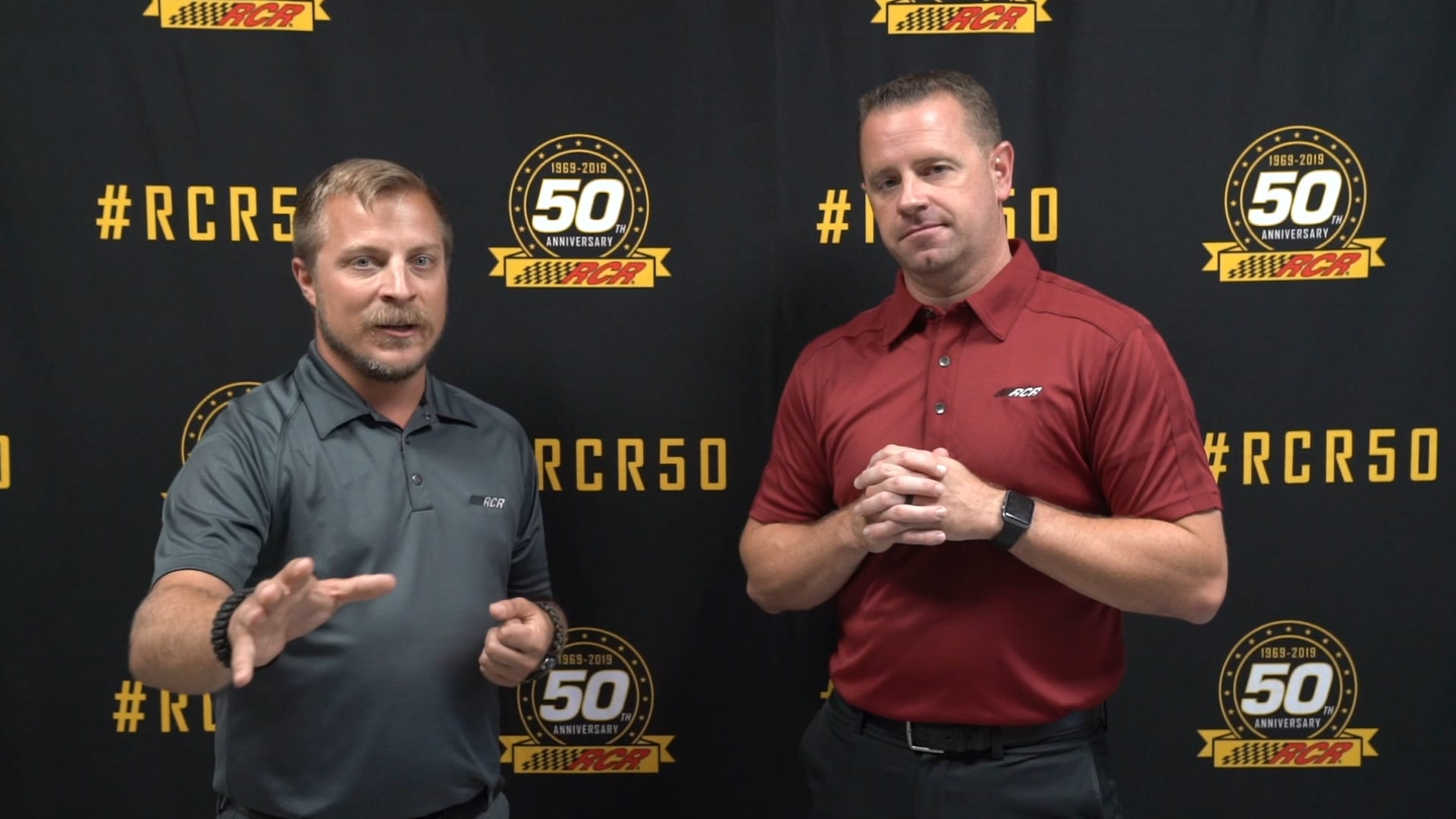 Museum Monday: Gearing Up for the RCR 50th Fan Segment