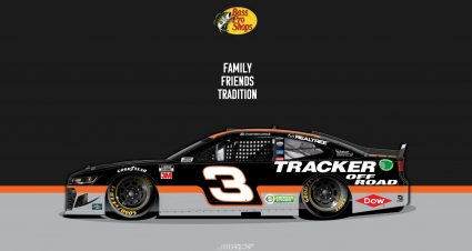 Austin Dillon's No. 3 Bass Pro Shops Tracker Off-Road Chevrolet Revealed