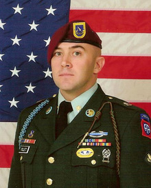 Sgt. Norman Lane Tollett, graduate of Elyria Catholic High School, killed in Iraq April 23, , 2007. Photo received via e-mail from family April 30, 2007.