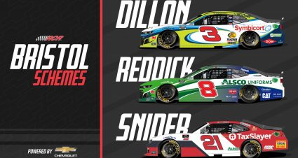 Richard Childress Racing Schemes at Bristol Motor Speedway