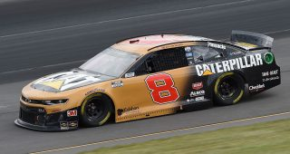LONG POND, PENNSYLVANIA - JUNE 27: Tyler Reddick, driver of the #8 Caterpillar Chevrolet, drives during the NASCAR Cup Series Pocono Organics 325 in partnership with Rodale Institute at Pocono Raceway on June 27, 2020 in Long Pond, Pennsylvania. (Photo by Jared C. Tilton/Getty Images) | Getty Images
