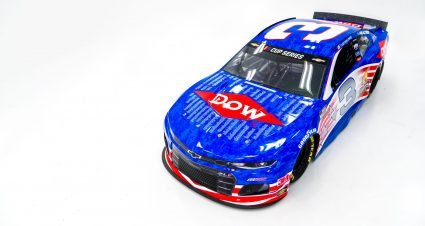 RCR and Dow Honor Veterans With No. 3 Paint Scheme for July 4th Holiday Weekend Race
