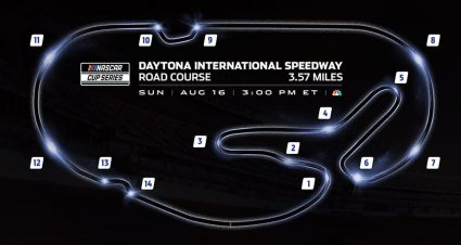 Daytona Road Course to have Chicane Added; Race Lengths also Announced