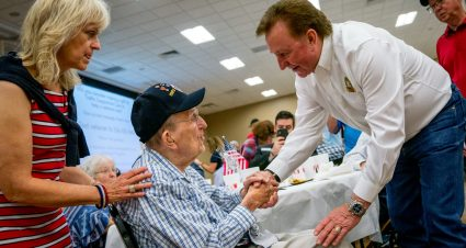 Honoring Our Nation's Heroes at Richard Childress Racing