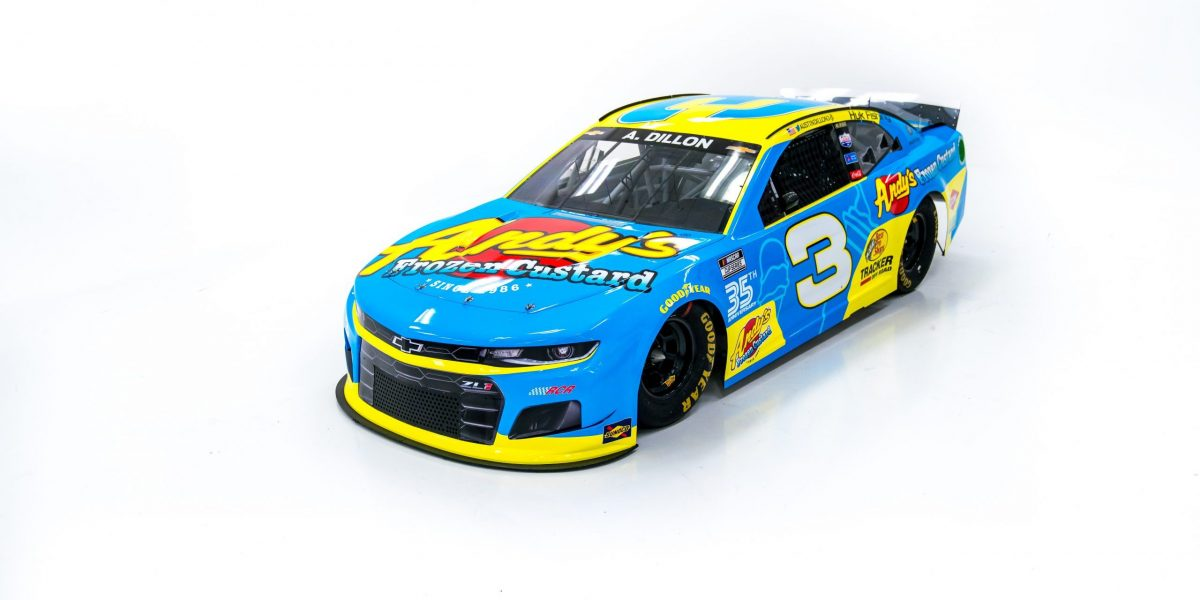Scoop! There It Is! The No. 3 Andys Frozen Custard Chevy