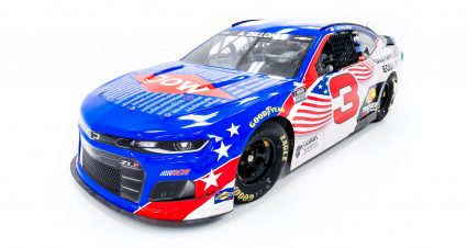 RCR, Dow and Team Rubicon Honor U.S. Military Veterans with Patriotic Paint Scheme Over July 4th Holiday Weekend
